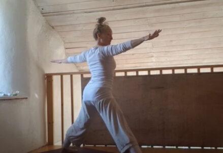 Corona yoga dansen